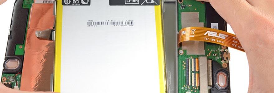 Changer batterie Nexus 7