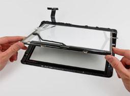 Réparation d'écrande tablette